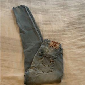 Women's True Religion 24x30 Jeans skinny stretch